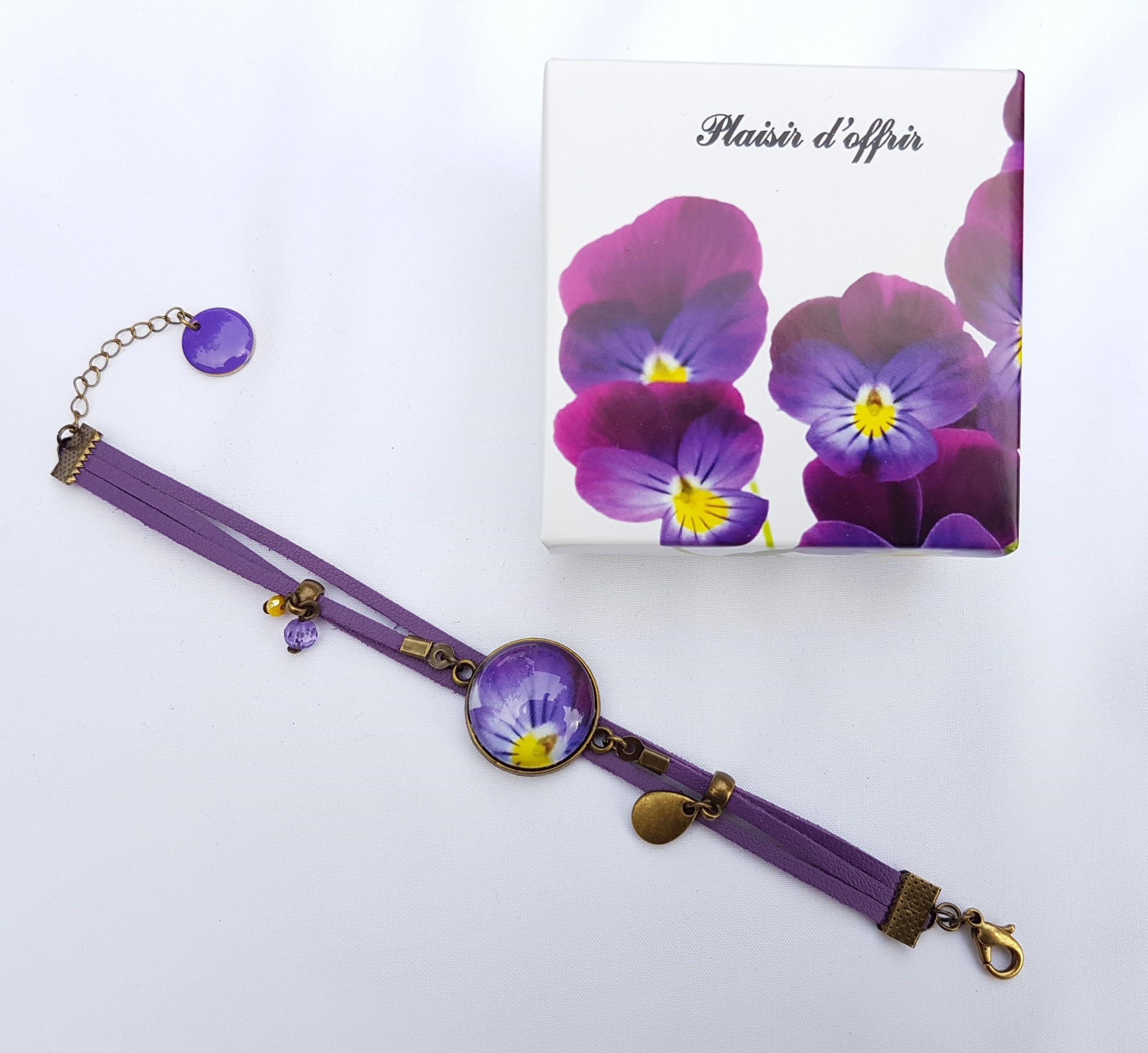 violettes cornes